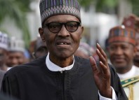 President Muhammadu Buhari, Paul Arkwright,