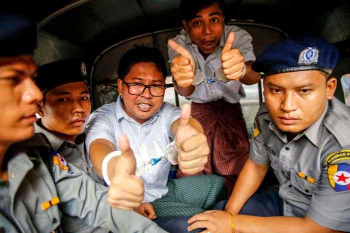 Wa Lone, Kyaw Soe Oo, Reuters, Journalists, Myanmar