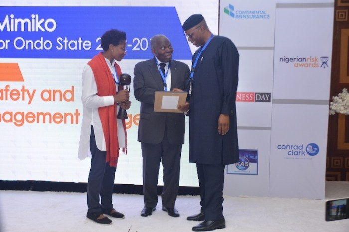 Healthcare: Mimiko Receives Outstanding Award For Ondo Emergency Medical Services