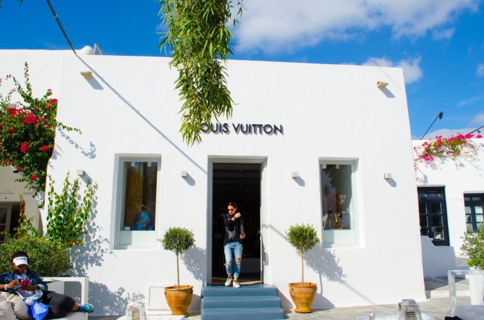 he famous French fashion house has its own store on Mykonos since 2012.