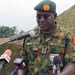 The Chief of Army Staff, Lieutenant General Tukur Yusuf Buratai bandits