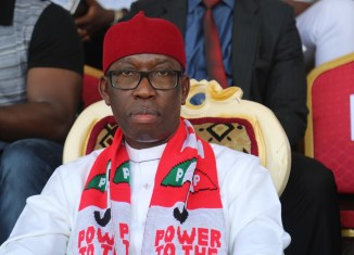 Senator Ifeanyi Okowa, the governor of Delta State