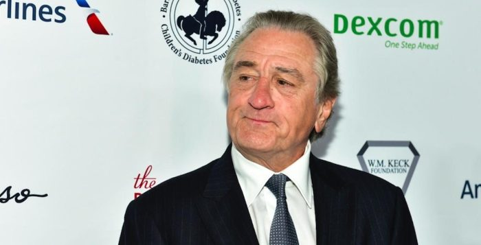 A suspicious device was sent to actor Robert De Niro in New York City, and police are investigating. (Photo by Rodin Eckenroth/Getty Images)