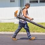 backback leaf blower