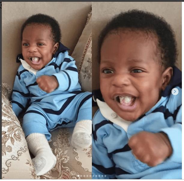 Linda Ikeji's son, Jayce Jeremy
