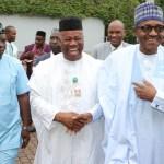 Muhammadu Buhari Godswill Akpabio
