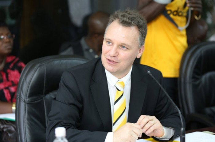 Uganda Wim Vanhelleputte, the chief executive of MTN Uganda