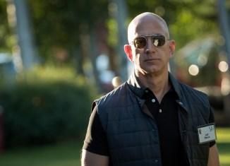 Jeff Bezos, CEO of Amazon and world's richest man