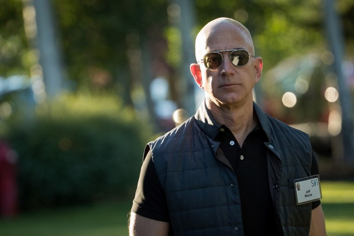 Jeff Bezos, CEO of Amazon and world's richest man