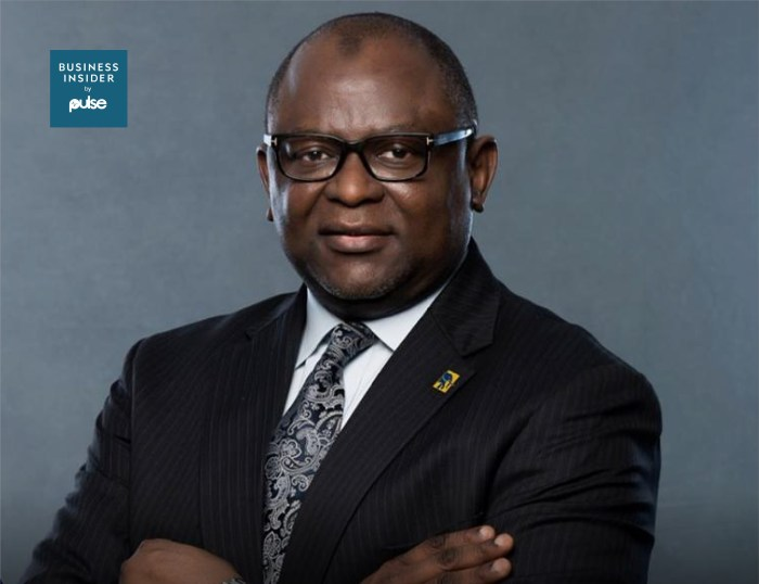 Dr. Adesola Kazeem Adeduntan, the chief executive officer of First Bank