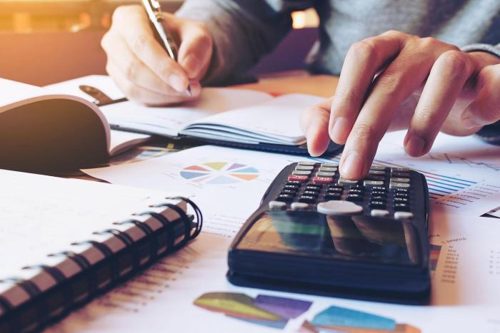 VAT Management Tax laptop
