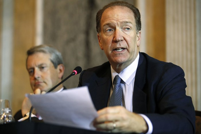 COVID-19 David Malpass, President Donald Trump's expected pick to head the World Bank, has been a major player in trade talks with the Chinese.