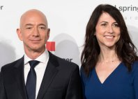 Jeff and MacKenize Bezos