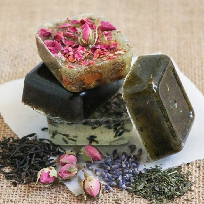 tea soaps