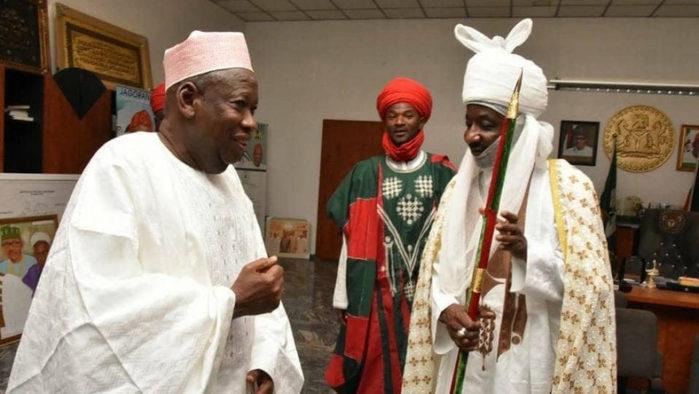 Obiara A. Egwuatu, Emir Sanusi, Ganduje
