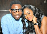 Singer and songwriter, Timi Dakolo and his wife, Busola