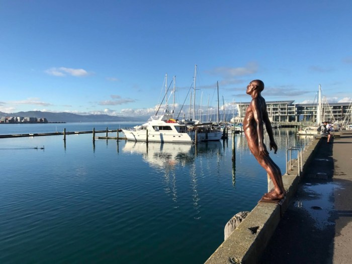 the habour at Wellington, New Zealand