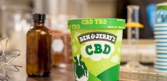introduce ben & jerry's cbd-infused ice cream