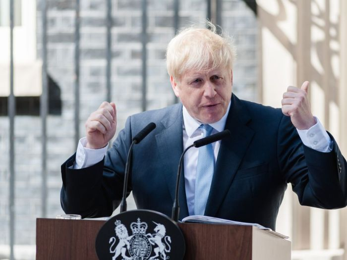 Boris Johnson compared himself to Sir Winston Churchill (Image: Wiktor Szymanowicz / Barcroft Media)