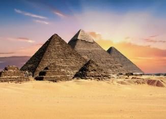 Giza Pyramid Complex, Cairo, Egypt