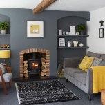 grey furniture home