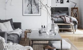 grey furniture interior decor