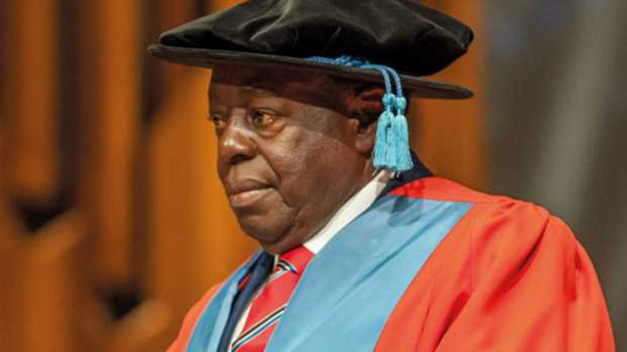 Afe Babalola, a renowned legal practitioner and a Senior Advocate of Nigeria (SAN)