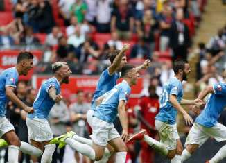 Manchester Cityhave beatenLiverpool5-4 on penalties to win the Community Shield, with Gini Wijnaldum missing the only spot kick in the shootout.