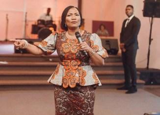 Funke Felix-Adejumo, a pastor and public speaker. Wife of the presiding pastor of Agape Christian Ministries in Akure, Ondo State