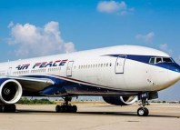 Federal Airports Authority Air Peace Airline's Boeing Aircraft