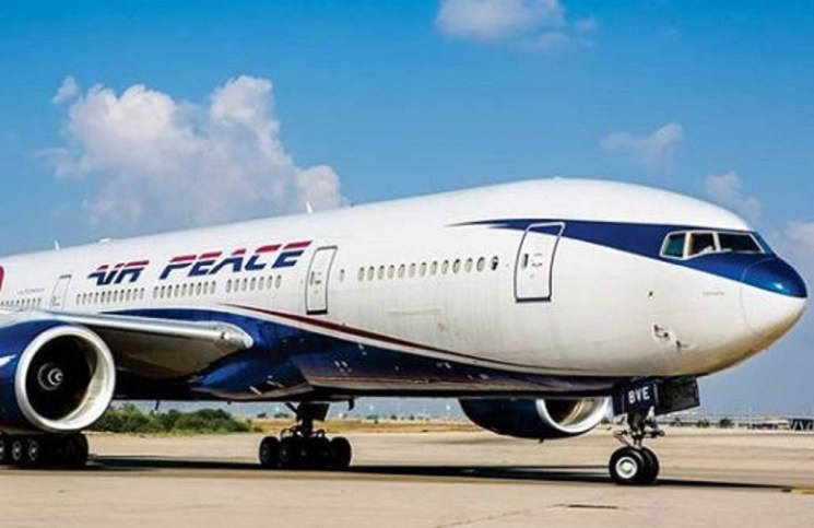 Air Peace Airline's Boeing Aircraft