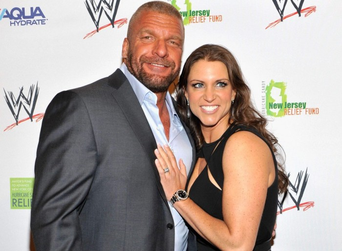 "Stephanie's husband Paul ""Triple H"" Levesque"