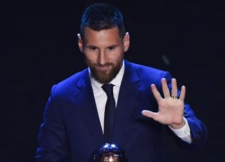 Lionel Messi has been awarded Best FIFA Men's player ahead of Virgil van Dijk and Cristiano Ronaldo