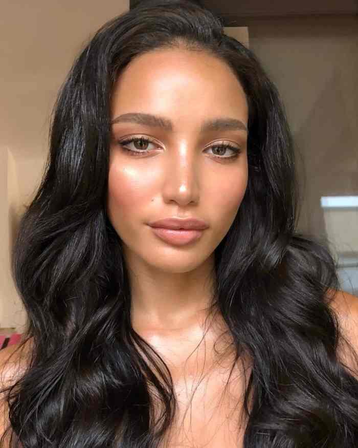 olive tone skin beautiful woman