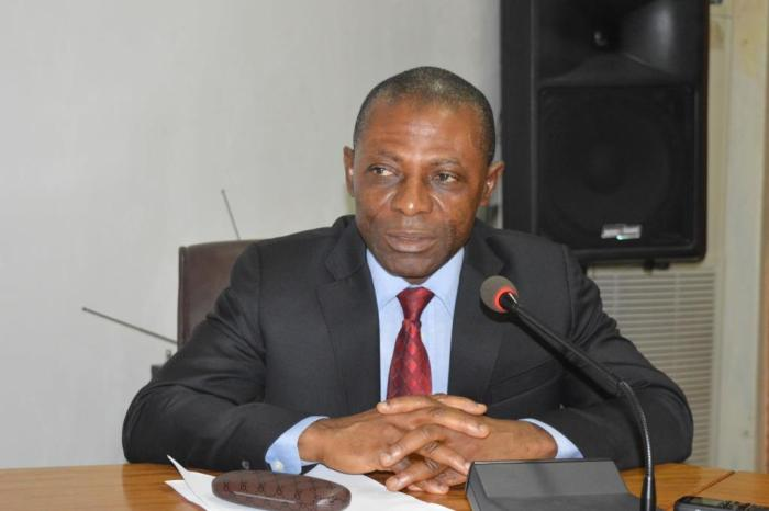 Nigeria's auditor-general, Anthony Mkpe Ayine