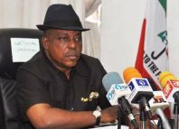 Prince Uche Secondus, the national chairman of the People's Democratic Party, PDP