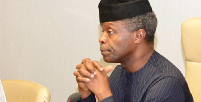 Yemi Osinbajo, the vice president of Nigeria