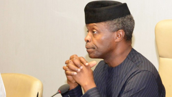Yemi Osinbajo, the vice president of Nigeria