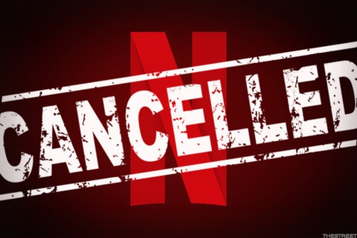 Netflix Cancelled