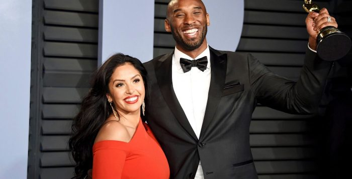 Kobe Bryant and wife Vanessa Bryant