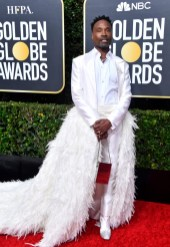 Billy Porter at the Beverly Hilton Hotel on Sunday, January 5, 2020 at the 77th Golden Globes Awards | Getty Images