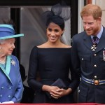 Queen Elizabeth II, Meghan Markle, Prince Harry