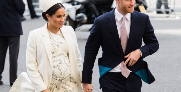 Print this page Europe Meghan Markle, Prince Harry's Wife, In Labor May 06, 2019 09:16 AM FILE - Britain's Prince Harry and Meghan, Duchess of Sussex in London, Britain. FILE - Britain's Prince Harry and Meghan, Duchess of Sussex in London, Britain.