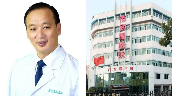 Liu Zhiming, the director of Wuchang Hospital