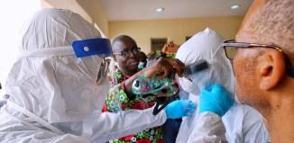 Africa WHO coronavirus, COVID-19
