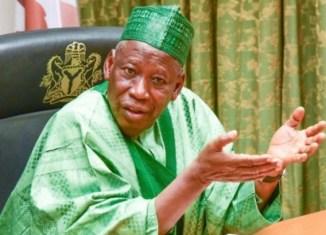 Governor Abdullahi Ganduje of Kano State. | NAN