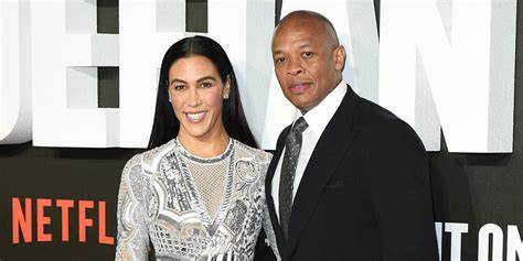 Dr Dre and Nicole Young