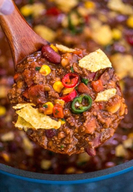 Homemade Classic Chili
