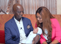 Regina Daniels and Ned Nwoko's son