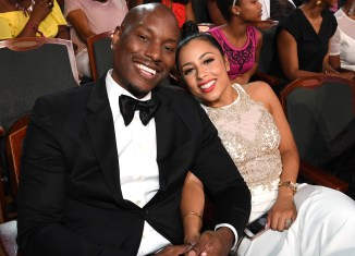 Tyrese Gibson and Samantha Lee